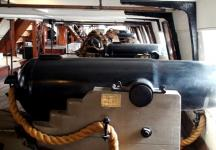 USS Constellation (12) 64pdr Shell Gun No.2