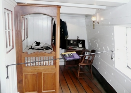 USS Constellation (18) Stateroom