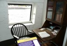 USS Constellation (16) Captains office