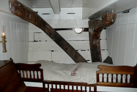 USS Constellation (21) 5th Lieutenant room