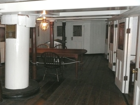 USS Constellation (19) Wardroom