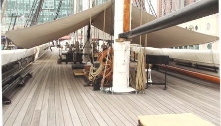USS Constellation (24)  Spar Deck -2