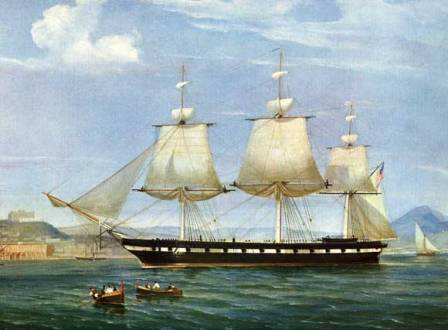 USS Constellation at Italy WEB