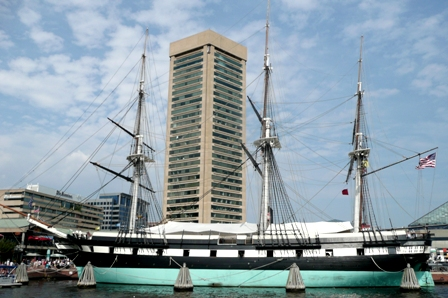 USS Constellation at Baltimore Final