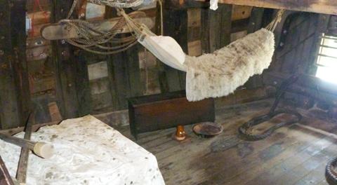 Mayflower船長寝室