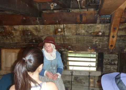Mayflower乗客居住区
