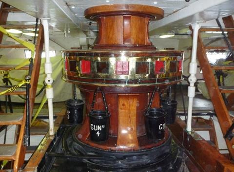 USS Constitution 2009 キャプスタン