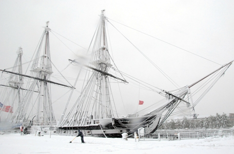 USS Constitution Jan 2011