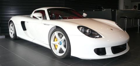 Carrera GT White