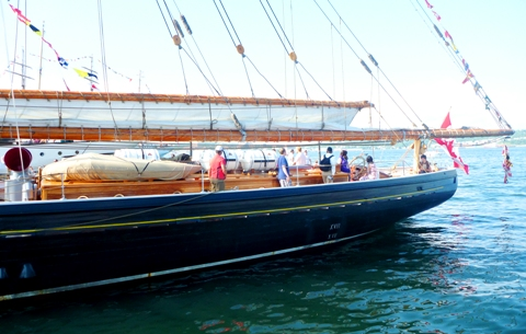 Bluenose 2 船体後部