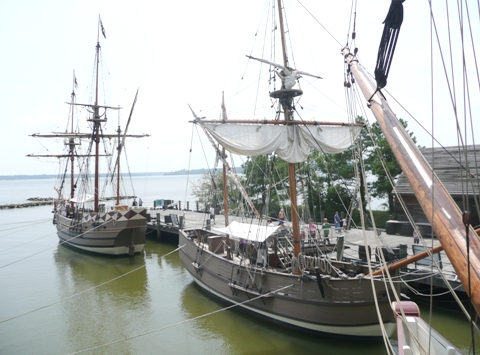 Jamestown ships (2)