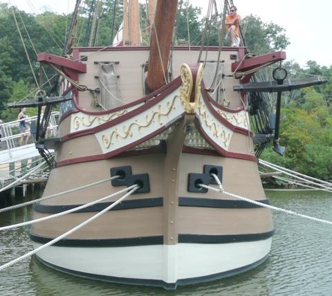 Susan Constant (6)船首構造