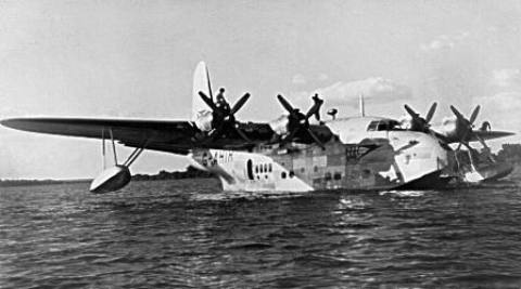 BOAC_Flying_Boat G-AHIT 1948