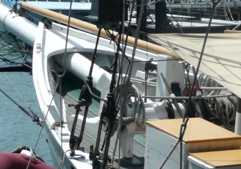 Lettie G Howard 船首 (2)