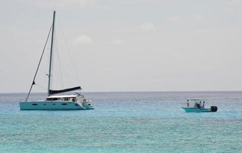 Anse Victorin (3) Pirate Ship and Fregate Boat