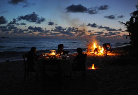 Grand Anse Beach Dinner