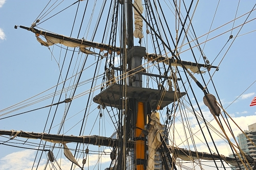HMS Surprise Fore Mast
