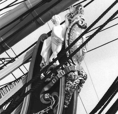 HMS Victory Figure Head 1992