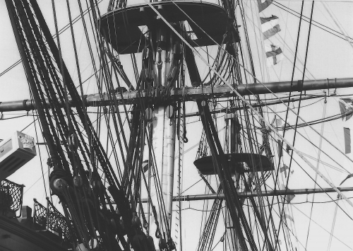 HMS Victory Rigging 1992