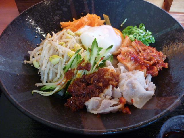 ビビンバ風冷麺~キムラ君バージョン~