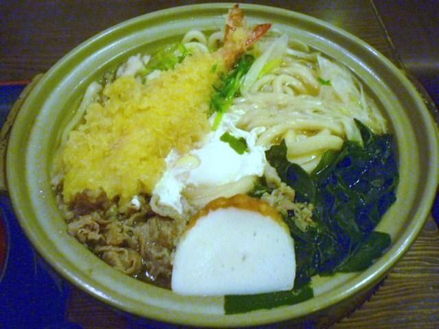 讃州 鍋焼きうどんアップ