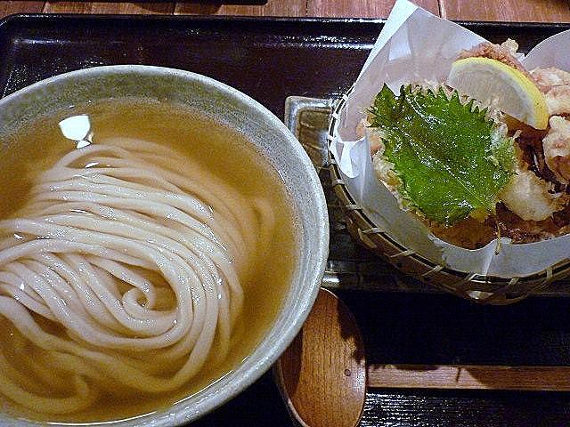 ひやかけとスルメイカの天ぷら