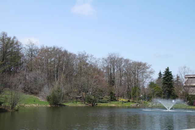 045緑が丘公園の噴水