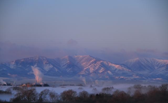 018日高山脈も美しい