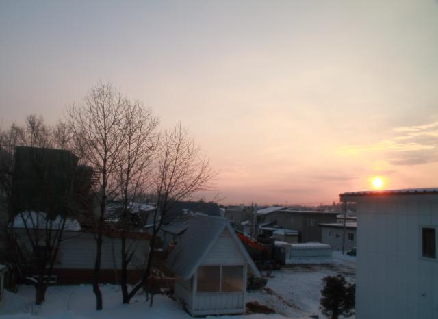 002お隣さんと日の出