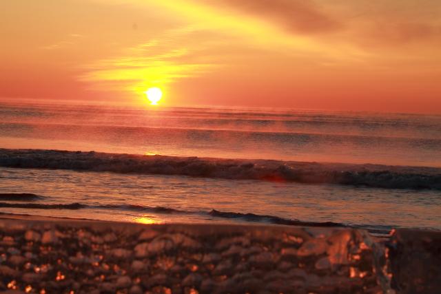 016太平洋からの日の出