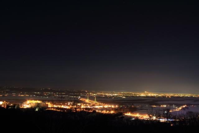 035十勝が丘展望台からの夜景