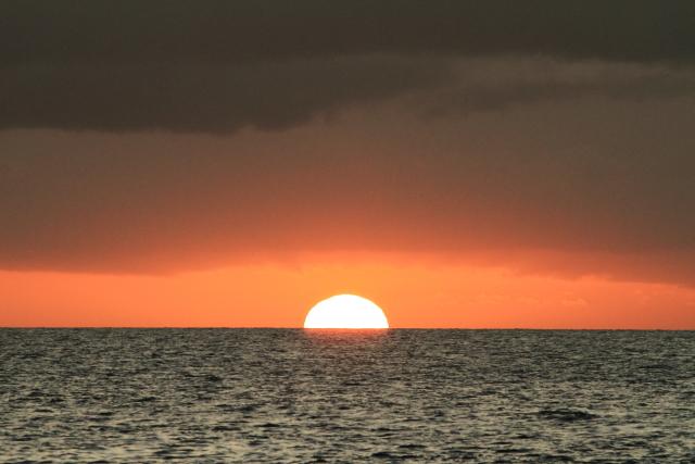 708太平洋に沈む夕陽