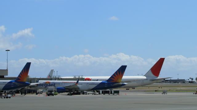 762ホノルル空港