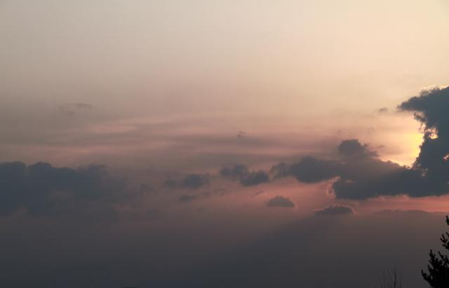 057やさしい夕景