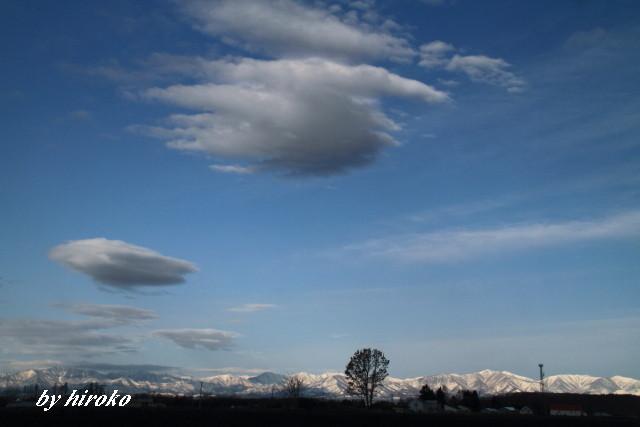 106残雪の日高山脈