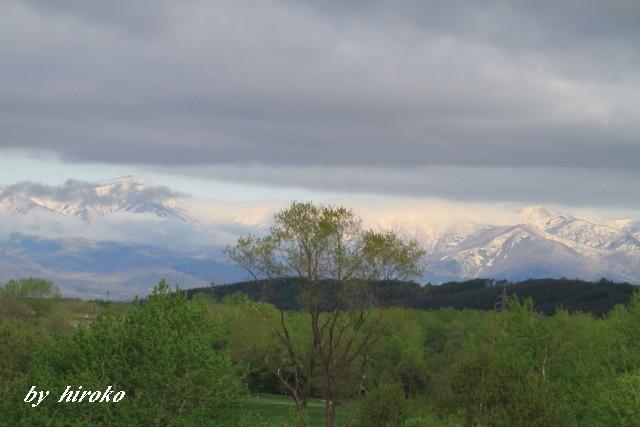 001ベルトゾーンに見える日高山脈