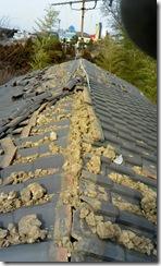 屋根棟落下