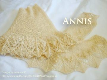 Annis 編んでみました♪