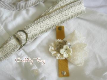 私も欲しい! アフガン編みのベルトを委託へ