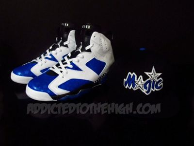 MIZ features the custom Jordan VI's for Gilbert Arenas2CreepCWC EASTERKASHIWA