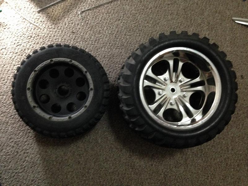 タイヤの比較1