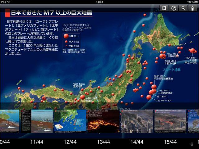 プレート境界型地震
