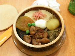 行きに横川S・Aで食べた峠の釜めし。