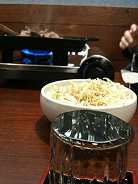 気仙沼ホルモンと日本酒♪