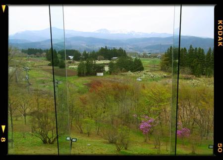 おなじみ、西田記念館からの圧巻のパノラマ