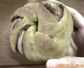 抹茶アンパン