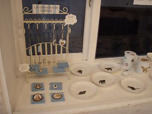 陶器コーナー