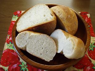 C店パンの断面
