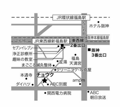 チョウク地図