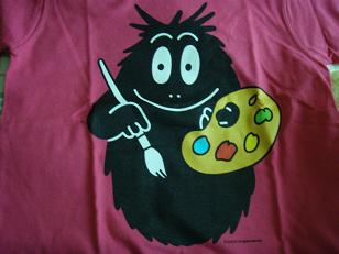 バーバーモジャのTシャツ